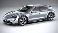 Porsche Taycan 4S Cross Turismo 2021