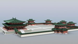 3D Chinese Palace 01