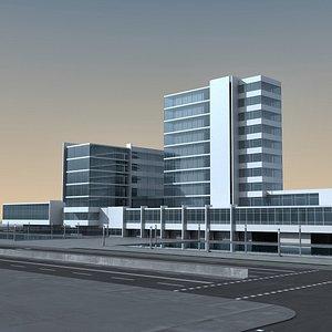3D model Modern Building 137 Scene