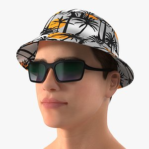 Young Teenage Male Head 3D model
