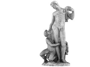 3D Renaissance Sculpture Masterpiece