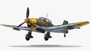 3D Junkers Ju 87B-2 Stuka