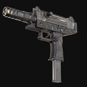 3D uzi pistol