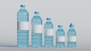 bottles blender 3D