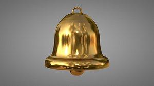 gold gong 3D model