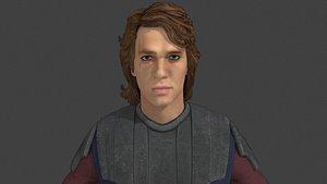 anakin skywalker starwars - 3D model