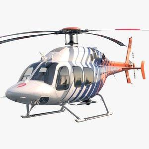 3D Bell 429 CareFlite