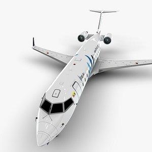 air bombardier crj 200 model