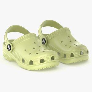 clog classic crocs 3D