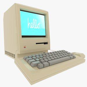 3D model Macintosh