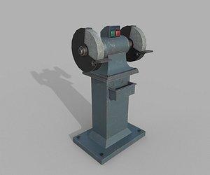Bench Grinder 3D model