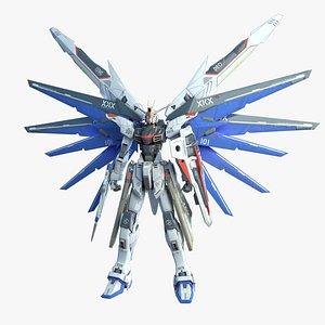 3D Freedom Gundam