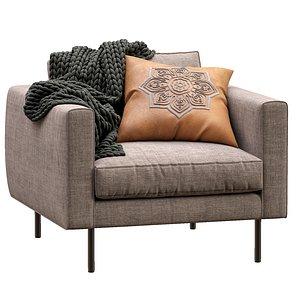 3D boutique armchair moooi
