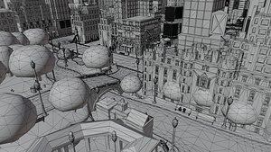 3D map newyork