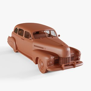 3D model cadillac touring sedan