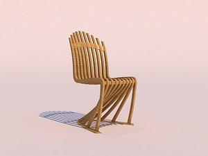 3D model parametric chair -