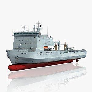 3D lyme bay l3007 ship
