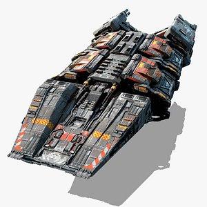 3D model STRATON - CargoShip
