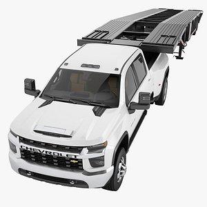 Chevrolet Silverado 3500 HD 2021 10 3D model