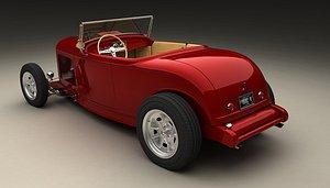 hotrod 1932 3D model