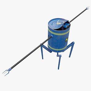 Robot Canned Spider Bot 3D model