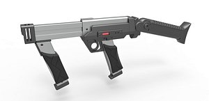 3D model Blaster rifle from Lost in space 1998