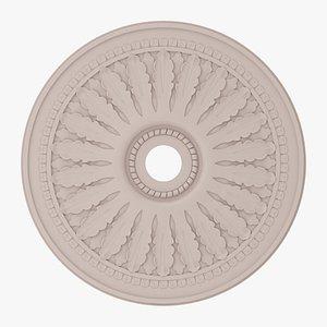Classic Ceiling Medallion 20 3D model