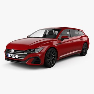 Volkswagen Arteon Shooting Brake R-Line 2020 3D