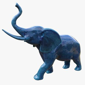 elephant figurine model