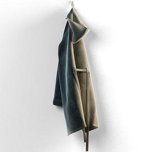 3D bath robe model
