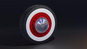 classic wheel 3D model
