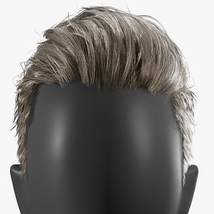 3D real-time hair haircut