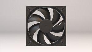 pc computer fan 3D model