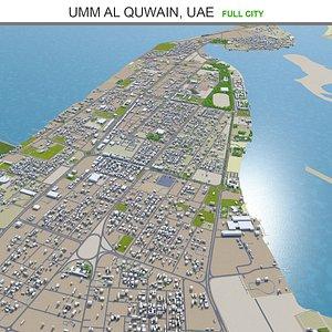 3D Umm al Quwain UAE