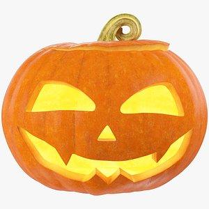 Halloween Pumpkin V3 3D model