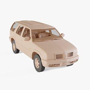 1998 Oldsmobile Bravada 3D model