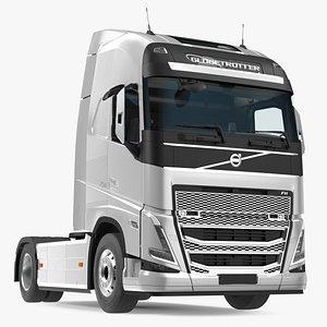 Volvo FH16 750 Globetrotter Truck 3D model