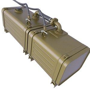 tank oil fuel 3D model
