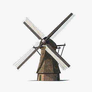 3D Windmill Holland
