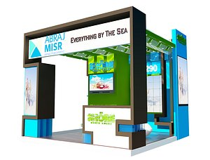 exhibitions booth 3D