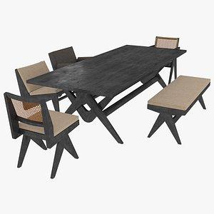 black mahogany 3D