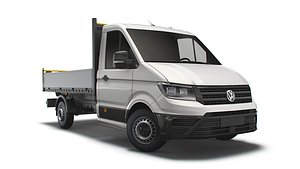 crafter single cab tipper model
