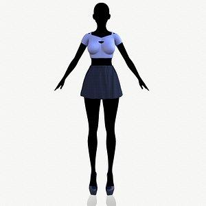 3D fashion clothing