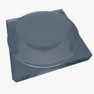 achromatic lens 3D model