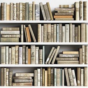 3D Classic Books 20