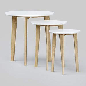 Coffee tables Abin by Actona Cosmorelax 3D model