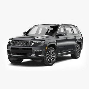 3D Jeep Grand Cherokee L 2022