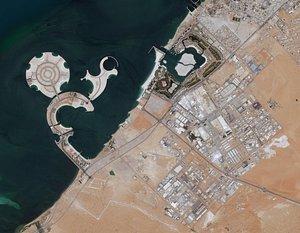3D Cityscape Ras al Khaimah Dubai United Arab Emirates model