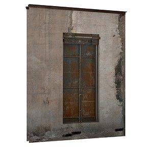 3D Industrial Metal Windows 01 03