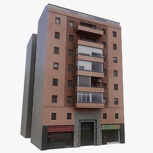 3D Madrid Building model